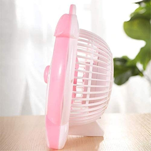 GSAGJyec Mini Ventilatore da Tavolo Office Muto, Design Integrato, modalità seconda Marcia (25 * 16 * 30 cm)