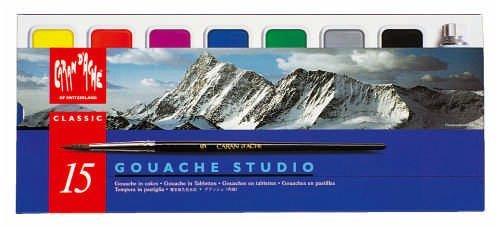 gouache paint set - 7