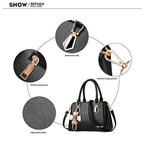 donne a nero stilista Khaki il Borsa della della per massima delle 50cm tracolla 30cm lunghezza borsa x4wxvqg0d