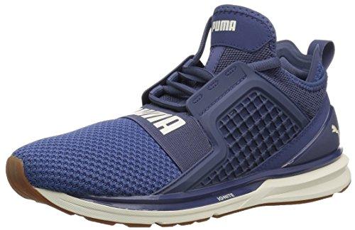 Puma Wite Ignite Weave Wn Sneaker Blu Indigo-whisper Bianco