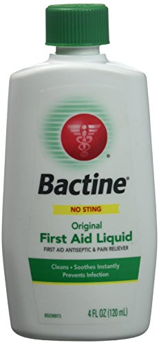 Bactine Original First Aid Liquid, 4 Fl Oz (Pack of 5)