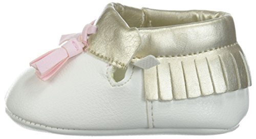 Pictures of Baby Deer Girls' 0004136 Moccasin White 1 White 1 Child US Infant 5