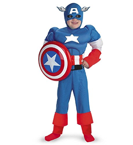 Captain America Muscle - Size: Child -