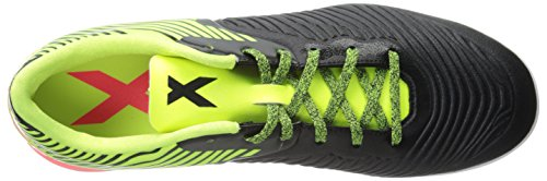 Adidas Performance X 15.2 del CG de fútbol de zapatos, Core Negro / flash rojo S15 / S15 noche flas Core Black/Solar Yellow/Flash Red S15