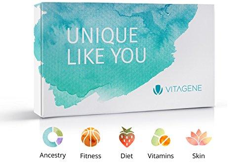Vitagene DNA Test Kit: Ancestry + Health + Skin