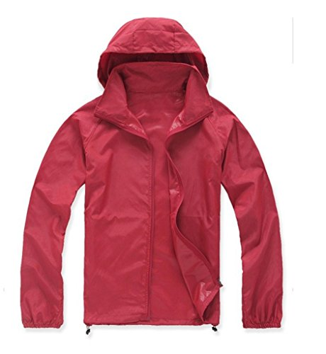 Price comparison product image Women Lightweight Dri-Fit Rain Jacket Trail Drier Hoodie Skin Coat