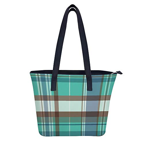 Mosaic Style Ornament Mardi Gras Holiday Colors Tote Bags Big Shoulder Bags for Women Handbag By Avber