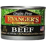 Evangers Grain Free, All Natural Dog/Cat Food