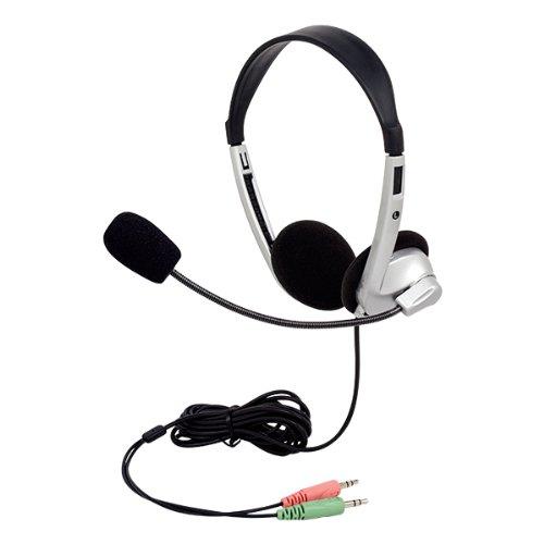 Egghead Stereo School Headphones w/ Boom Microphone, EGG-...