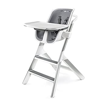 Image of 4moms high Chair – Easy to Clean with Magnetic, one-Handed Tray Attachment, from The Makers of The mamaRoo Baby