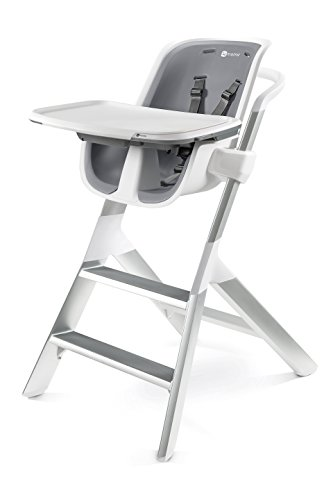- 4moms high Chair - Easy to Clean with Magnetic, one-Handed Tray Attachment