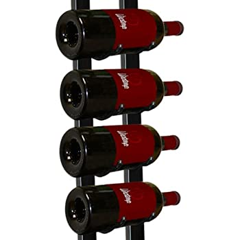 Amazon Com Vinotemp Metal Wall Mount 9 Bottle Wine Rack