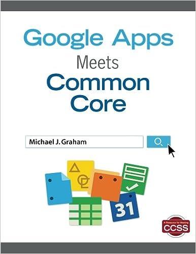 Google Apps Meets Common Core Null Michael J Graham