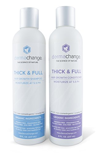 l Hair Growth Shampoo and Conditioner Set - Sulfate Free - Hair Regrowth With Vitamins - Hair Loss Products - Color Treated or Curly Hair - For Women and Men (4oz) - Made in USA ()