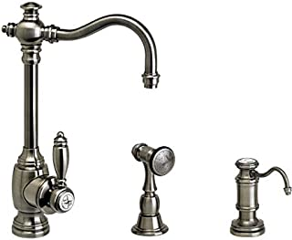product image for Waterstone 4800-2-BLN Annapolis Prep Faucet 2pc. Suite Black Nickel