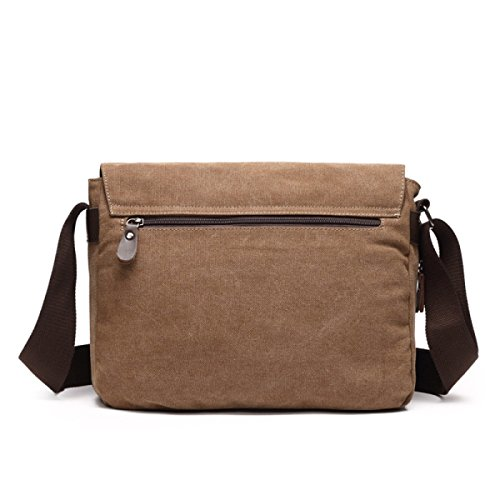 Korean Bag Messenger Canvas Casual Armygreen rUCYxntqrw