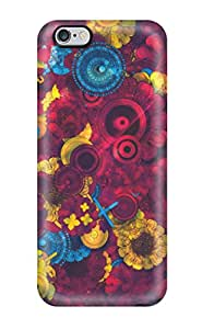 Premium Psychedelic Back Cover Snap On Case For Iphone 6 Plus