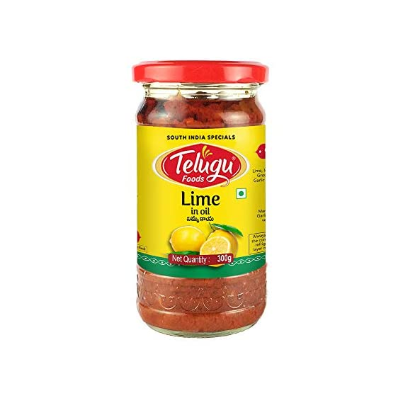Telugu Foods Lime Pickle(300gms)