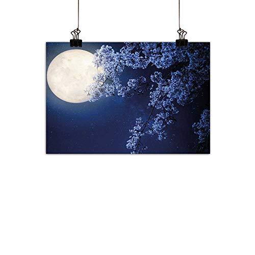 Duommhome - Póster de pared con diseño de árbol antiguo del desierto, pintura a mano como imagen de cosmos nebulosa,...
