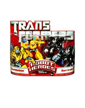 Bumble Bee Heroes Robot - Transformers: Robot Heroes > Bumblebee And Barricade Action Figure Multipack