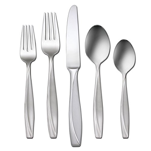 Oneida Camlynn 45 Piece Everyday Flatware Set, Service for 8