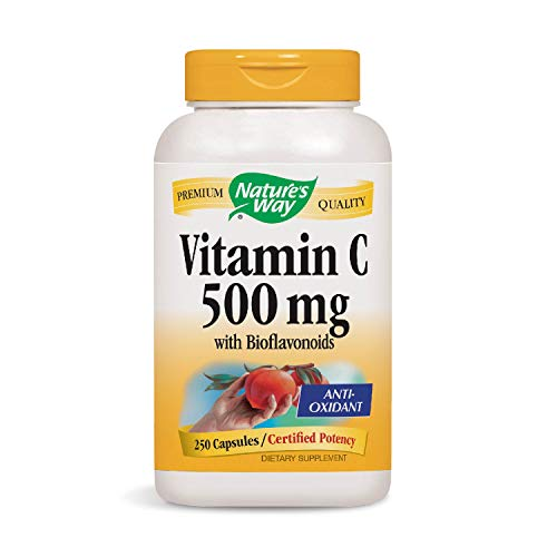 (Nature's Way Vitamin C-500 with Rose Hips; 1000 mg per Serving; 250)