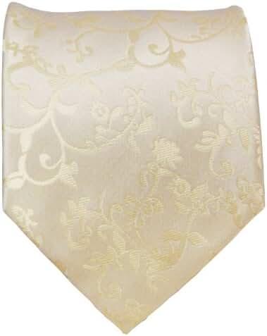 Extra Long Paul Malone Wedding Tie Set 100% Silk