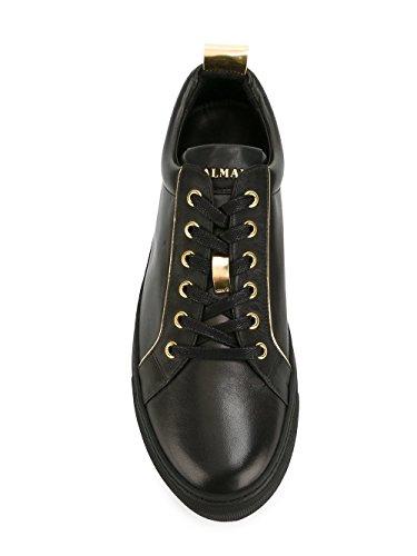 Balmain Men's S7HA304P038176 Black Leather Sneakers get to buy cheap price brand new unisex great deals sale online SRkLHOiz
