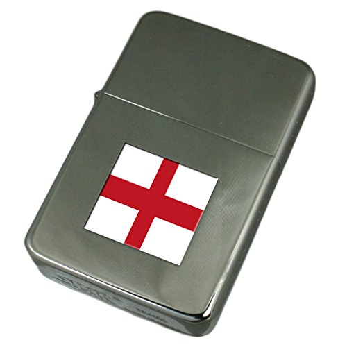 Engraved Lighter Genoa City Italy Flag by Select Gifts