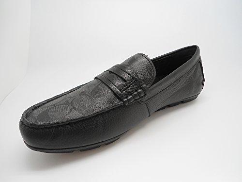 Coach-Men-Mott-Penny-Singature-Shoes-Black-Size-9m