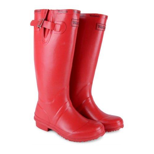 Rosso Di Stivali rosso Gomma Sensation Donna Footwear BwxHg4q0Xx