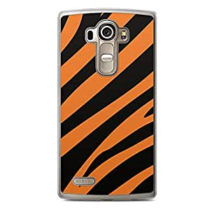 Tiger LG G4 Transparent Edge Case - Animal Prints Collection