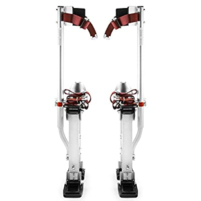 "Eight24hours Drywall Stilts Painters Walking Taping Finishing Tools - Adjustable 15"" - 23"""