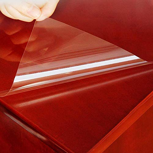 HOHO Glossy Clear Protection Film Table Furniture Stickers 4mil Home Vinyl 70cmx300cm (Furniture Film)