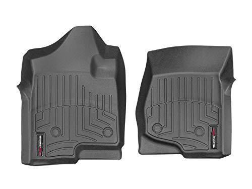 WeatherTech 440661 Custom Fit Front FloorLiners (Black) (Cadillac Escalade Esv Rear Floor)
