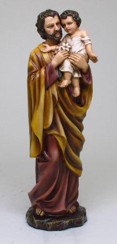 Joseph Metal (11.25 Inch St Joseph Orthodox Religious Religion Statue Figurine)