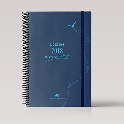 Ingraf Coaching Aligae - Agenda semanal, 20 x 25.5 cm, color azul