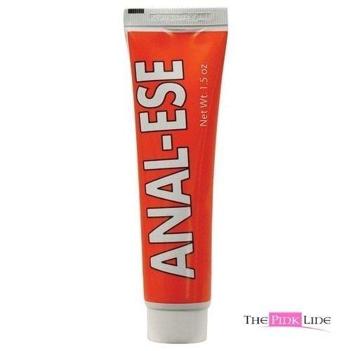 Siam Cirque Anal-Ese Facilité Eaze cerise aromatisés Butt Lubrifiant Lube Cream 1,5 Oz Tube
