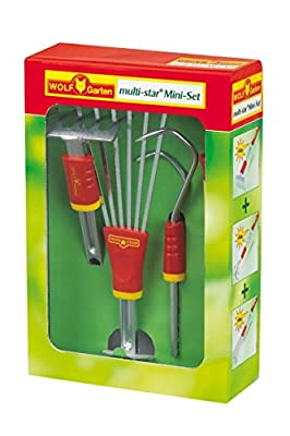 Wolf-Garten 3732624 P224 LJ-M/LD-M/LA-M/ZM03 Mini-Set - Hand Tool