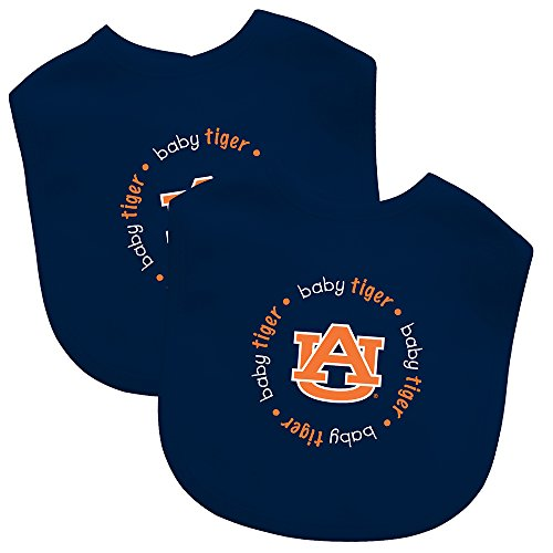 Baby Fanatic Team Color Bibs, University of Auburn, 2-Count
