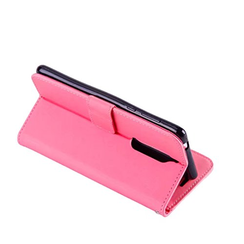 COWX Nokia 5 Hülle Kunstleder Tasche Flip im Bookstyle Klapphülle mit Weiche Silikon Handyhalter PU Lederhülle für Nokia 5 Tasche Brieftasche Schutzhülle für Nokia 5 schutzhülle Lc7QccB
