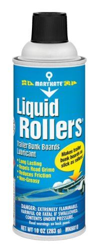 MaryKate Liquid Rollers Trailer Bunk Board - Roller Ramp