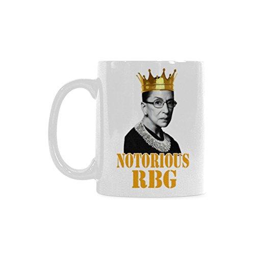 WECE Coffee Mugs Notorious RBG Funny Coffee Tea Cup,11 ounce