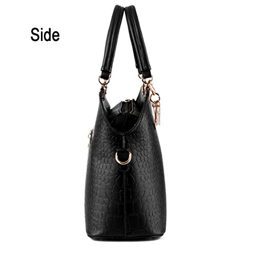 Shoulder Leather Bag New Bags Red Satchel Handbag Purse Tote Hot Beautiful Faux Hobo Women qwUUtxpF