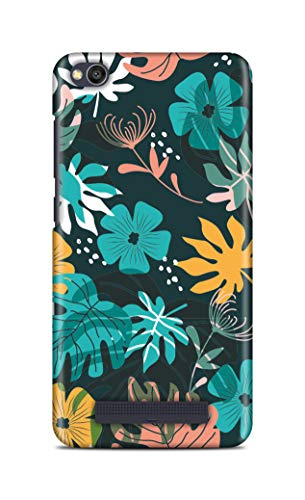 Shengshou Mobile Back Cover for Mi Redmi 4A Flower Art ABC553M37289