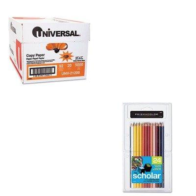 KITSAN92805UNV21200 - Value Kit - Prismacolor Scholar Colored Woodcase Pencils (SAN92805) and Universal Copy Paper (UNV21200)