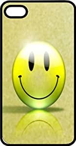 Happy Organic Smiley Face Tinted Rubber Case for Apple iPhone 4 or iPhone 4s