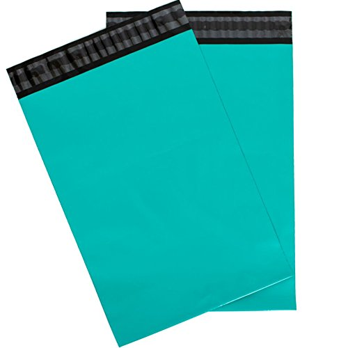 Inspired Mailers - Teal Poly Mailers - 8.5x12, 10x13, 12.5x15.5, 14.5x19, 16x22, 19x24, 22x28 Size Options (14.5x19)
