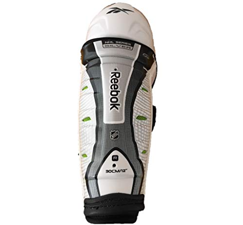 Reebok Shin Guard - Reebok SG Silver Hockey Shin Guard - JR 12
