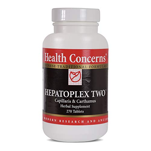 Health Concerns – Hepatoplex Two – Capillaris & Carthamus Herbal Supplement – Supports Normal Liver Function – 270 Tablets Review